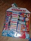 Carnival Cruise Line Scrapbook At Sea Kit Album Stickers Paper NEW 318 pIECES