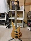 STAGG BASS GUITAR MODIFED WITH ACTIVE ELECTRONICS AND BC RICH PICKUPD