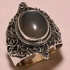 CATS EYE VINTAGE STYLE 925 STERLING SILVER RING SIZE 875 US