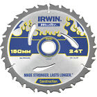Irwin Weldtec Construction Saw Blade 150mm 24T 20mm