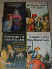 Lot of 4 Nancy Drew Books by Keene Mystery of the Ivory Charm Mannequin