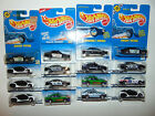 16 Hot Wheels POLICE CARS ONLY LOT BLUE CARD Sheriff Patrol DIECAST TANINTERIOR