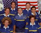 STS 94 MISSION CREW IN ORBIT ON SPACE SHUTTLE COLUMBIA 8X10 NASA PHOTO OP 133