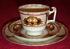 VINTAGE/ANTIQUE SAMUEL RADFORD IMARI TEA COFFEE TRIO SET CUP SAUCER PLATE