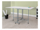 A Sewing Machine Table Top Wide Rolling Legs Folding Heavy Duty Universal Simple