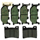 Front Rear Carbon Brake Pads For 2001-2003 2002Yamaha XVS 1100 V-Star Classic