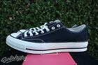 CONVERSE ALL STAR CHUCK TAYLOR CT 70 OX SZ 105 BLACK WHITE FIRST STRING 144757C