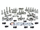 Honda XL650V Transalp 2006 large headed stainless steel screen fairing bolts kit