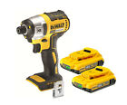 DeWalt XR Lithium Ion Brushless Impact Driver 18v DCF886 + 2 DCB183 2.0a Battery