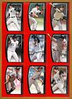 2009 Topps Unique Lot of 14 cards Peavy Lincecum