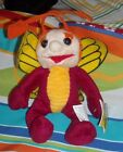 Krofft Superstars Beanie Bean Bag Plush Sparky New with Tags