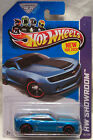 2013 Hot Wheels Blue Chevy Camaro Special Edition 194 250 NEW