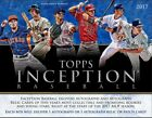 2017 Topps Inception Baseball Hobby 7 Card