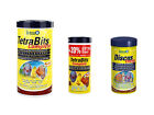 Tetra discus tropical fish food flakes granules aquarium fish food feeder comple