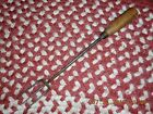 MID 19TH CENTURY SMALL SIZE SHAKER TOASTING FORK W NICE WOOD HANDLE