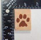 Rubber Stampede Paw Rubber Stamp 021B