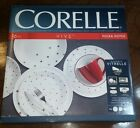 Corelle Vive Polka Dot Red 16 Piece Dinnerware Set  NEW  In Box Factory Sealed