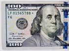2009-A $100 STAR NOTE S/N LF 01565788 * Circulated  Replacement U.S. Note.