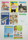LOT OF 7 WEIGHT WATCHERS WEEKLY GUIDES JUNE  JULY 2017 WITH RECIPES  COUPONS
