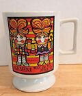 Vintage Knobler Japan Coffee Mug Cup Astrology Zodiac GEMINI Sign