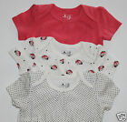 baby Gap NIP Girls 3 Pc Lot 3 Bodysuits