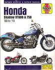1988-2014 Honda Shadow VT600 VT750 Repair Service Workshop Manual NEW 2224