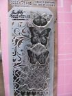 Tim Holtz Stampers Anonymous Mixed Media Clear Stamp Stencil Set THMM103