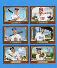 2016 Topps TBT 1955 Bowman Design Set 1 - 6