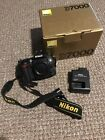 Nikon D7000 162MP Only 8400 shutter count Black Body Only