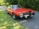1985 Mercedes-Benz SL-Class 380 Series for $7500 dollars