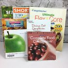 Weight Watchers diet book lot of 7 recipes food companion dining out paperback