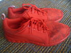 Puma Mens Round Toe Knit Canvas Red Running Shoes Size US 7 EU 405