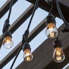 Edison Cafe String Lights Outdoor Patio Retro Vintage Hanging Porch Gazebo Party
