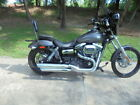 FXDWG Dyna Wide Glide Harley Davidson FXDWG Dyna Wide Glide charcoal pearl with 4509 Miles for