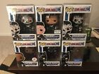 Funko Pop Black Panther & Crossbones Lot w exclusives! Free S&H + Protectors!