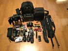 Nikon D800E 363 MP Digital SLR CameraExec w 3Lens FlashHUGE STUDIOW MATTBOX