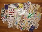 Huge scrapbook lot assorted stickers planner crafting collection card making