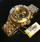 @NEW Invicta Reserve 52mm Specialty Subaqua Chronograph Gold Tone Bracelet 1568