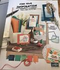 Stampin Up Idea Book Catalog and Occasions Book 2016 2017 New