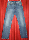 GUCCI Mens Button Fly Jeans w Embroidered Horsebit Size 46 IT 30 US GUC