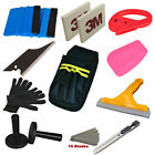 Car Wrap Vinyl Application Tools Kit Squeegee Bag Razor Wrapping Glove 2 Magnets