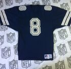Dallas Cowboys Troy Aikman Authentic Jersey Russell Navy Blue (Pre-NFL Shield)