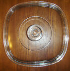 PYREX CORNING WARE A-9-C SQUARE CLEAR GLASS LID 8.5