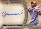 2015 Topps Tier One Acclaimed Autograph #AAAD Andre Dawson Auto # 50