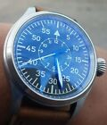 Pilot watch with a genuine  ETA 2836 Auto movement with a sterile dial.