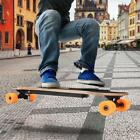 New Lightest Electric Powered Skateboard 250W Longboard+Remote Control Xmas Gift