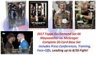 2017 Topps Mayweather vs. McGregor On Demand 20-Card Set 6 Road to August 26th