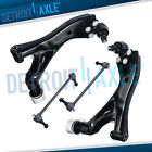 05-09 Chevy Equinox Torrent 4 pc Front Lower Control Arm Ball Joint Sway Bar Kit