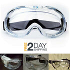 PROTECTOR GOGGLES GLASSES Safety Eye Anti Fog Over Vented Widevision Clear Lens
