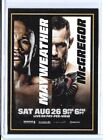 2017 Topps Floyd Mayweather Conor McGregor Event Card #TBD On Demand from Set 6